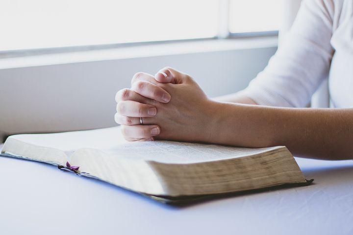 La Prière, Bible, Christian, Mains Jointes, La Religion
